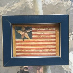 """Other - 5"""" x 7""""  Patriotic Flag sign"""